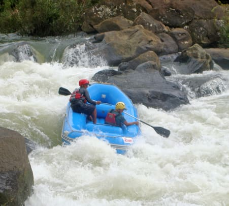 White Water Rafting at Bogamati