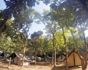 Riverside Camping,trekking and Rafting in Rishikesh