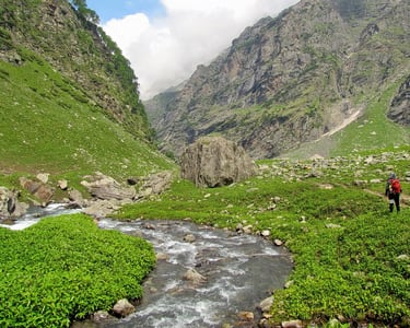 Hampta Valley Exploration Trek - from Manali