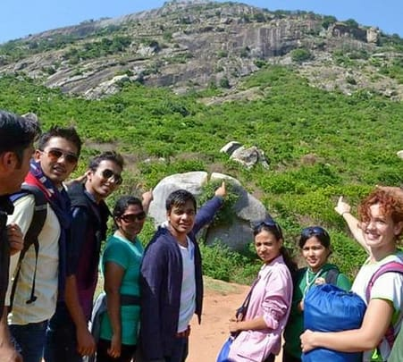 Day Trek And Rappelling In Skandagiri