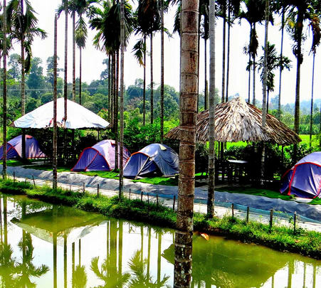 Camping at Modern Hill District Club, Wayanad