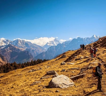 Pangarchulla Peak Climb, Joshimath
