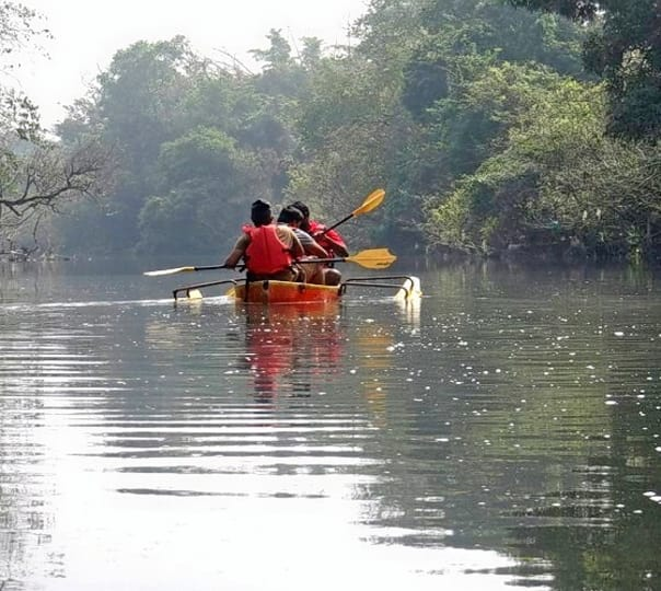 Kayaking in Coorg