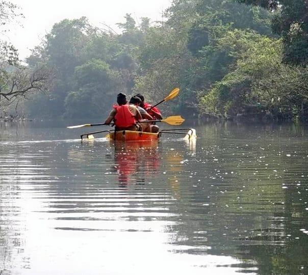 Kayaking in Coorg