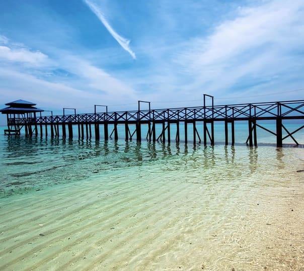 Day trip to Mantanani Island, Sabah.