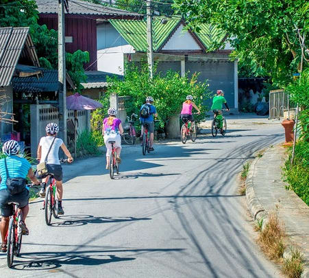 Cycling Tour to Hidden Valley Loop in Chiang Mai