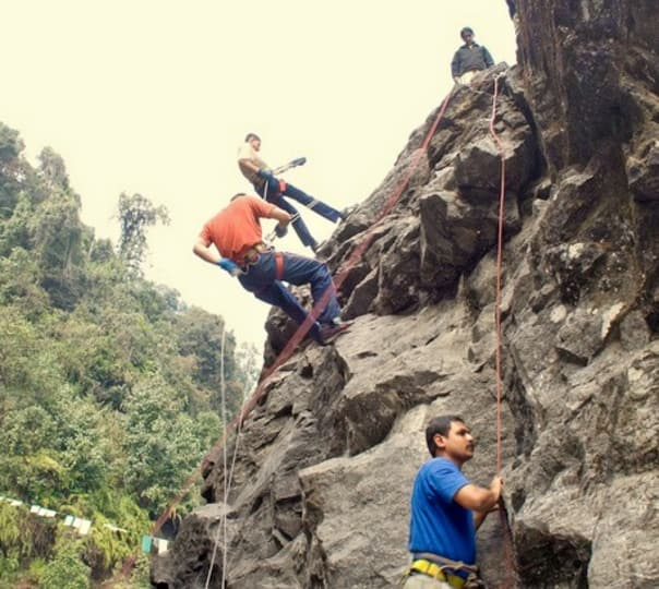 Rock Climbing and Rappelling at Mount Abu