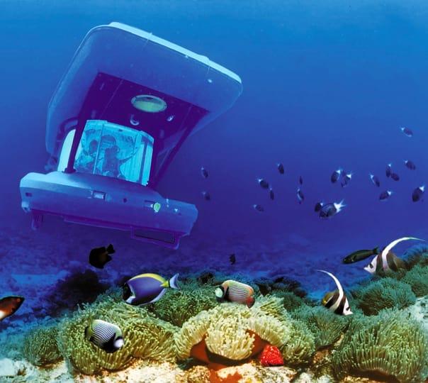 35 Meter Submarine Tour in Mauritius