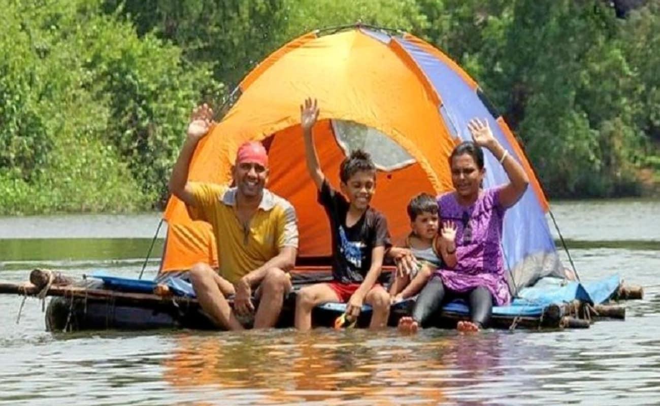 Floating Tent Camping In Badlapur Thrillophilia