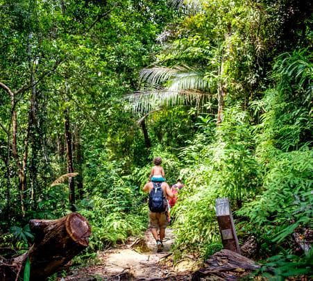 Gaya Island Trekking Flat 15% off