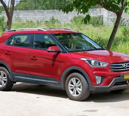 Rent a Hyundai Creta in Delhi