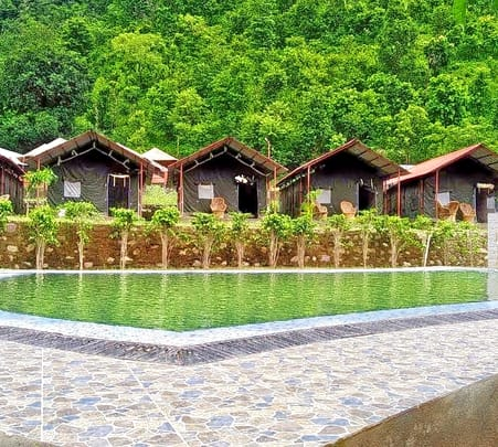 New Year Special Camping in Rishikesh