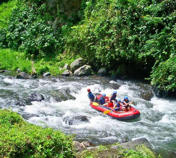 Rafting, Horse-riding and Sightseeing in Bali