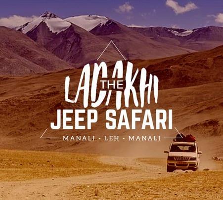 Manali Leh Manali Jeep Safari