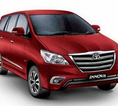 Innova Rental For 8 Hours in Goa
