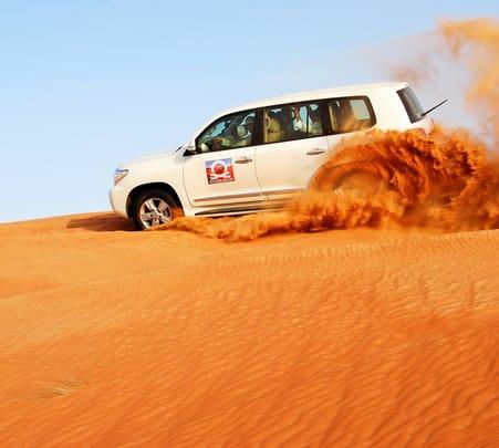 4x4 Dubai Desert Safari Adventure with Bbq Dinner