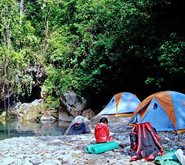 Ramganga Beach Camp, Naachni Village