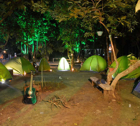 Jungle Camping Experience in Deori near Gwalior