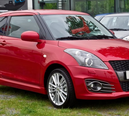 Rent a Maruti Swift in Bangalore