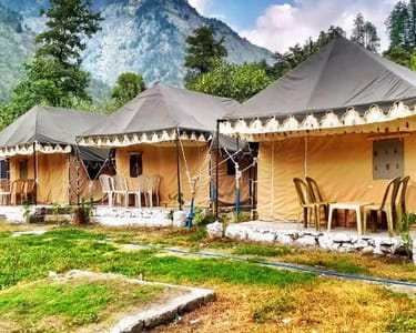 Camping in the Lap of Parvati Valley, Kasol Flat 28% off
