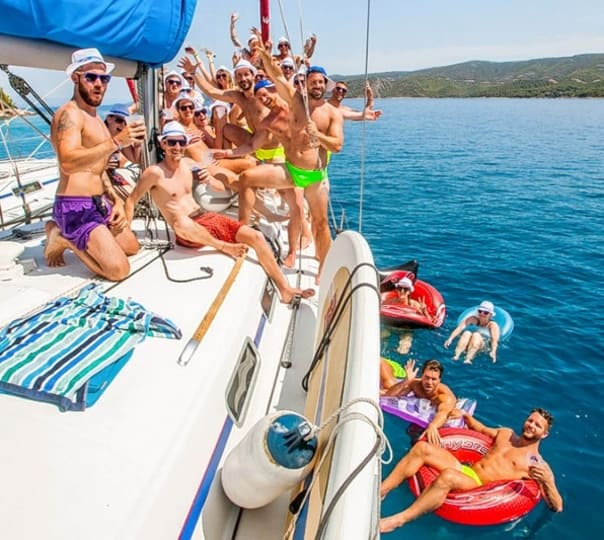 Croatia Island Hopping on a Yacht
