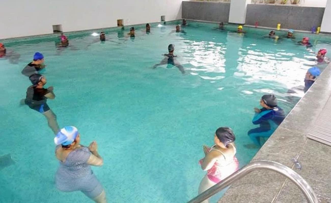 aqua aerobics class thrillophilia