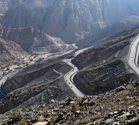 Tour of Northern Mountains in Dubai