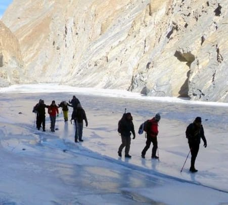 Frozen River Trek 2018, Leh Ladakh