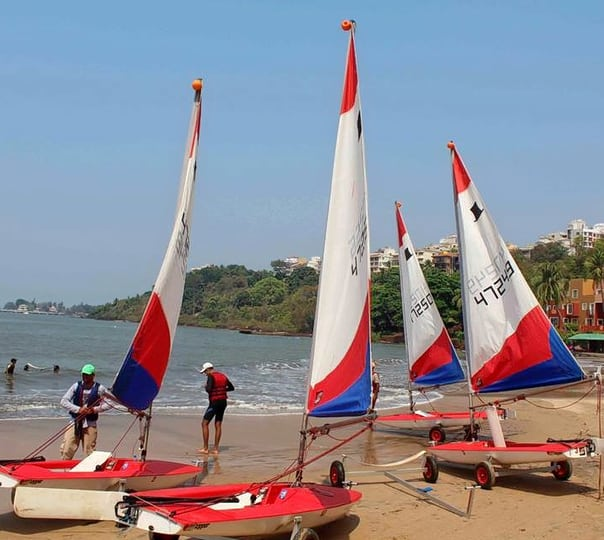 Sailing Tour at Grande Island, Goa