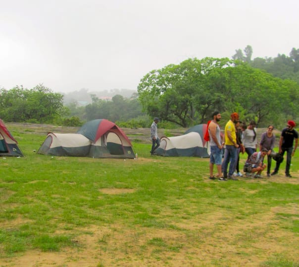 Trekking and Camping at Mount Abu