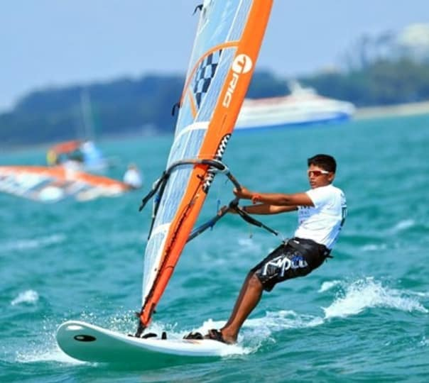 Windsurfing in Sun Drenched Goa