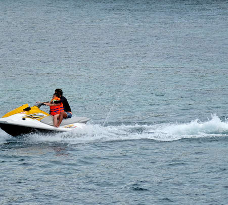 Water Sport Activity in Tanjung Benoa at Bali