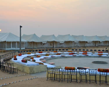 Adventure Safari Camping in Jaisalmer Flat 45% off