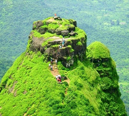 Kalavantin Pinnacle Trek in Maharashtra
