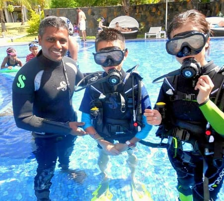 Scuba Diving Course at Belle Mare for Beginners