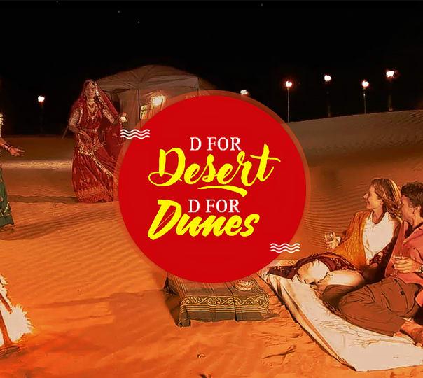 Luxury Camping in Jaisalmer with Desert Safari