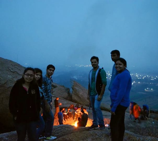 Savandurga Night Trek and Water Activities near Bangalore