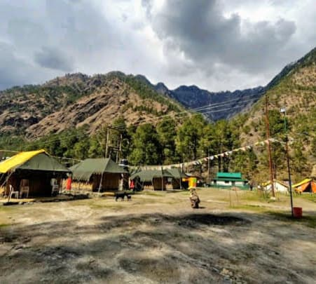 Camping in the Lap of Parvati Valley, Kasol