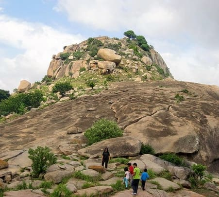 Trekking, Rock climbing and Camping at Devarayandurga
