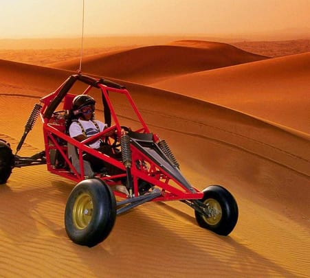 Thrilling Buggy Ride in Dubai
