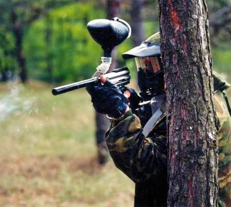 Paintball in Yelagiri