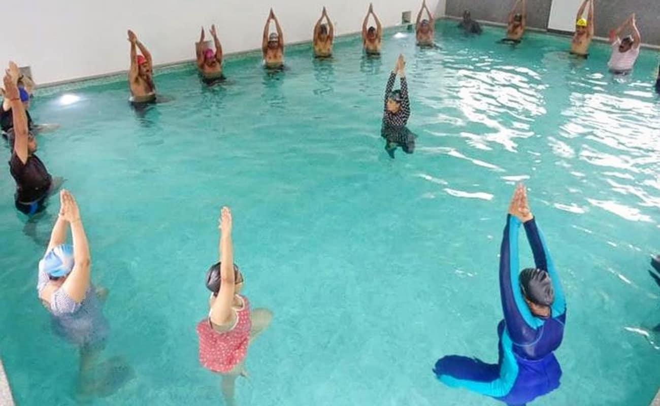 Water aerobics gold coast
