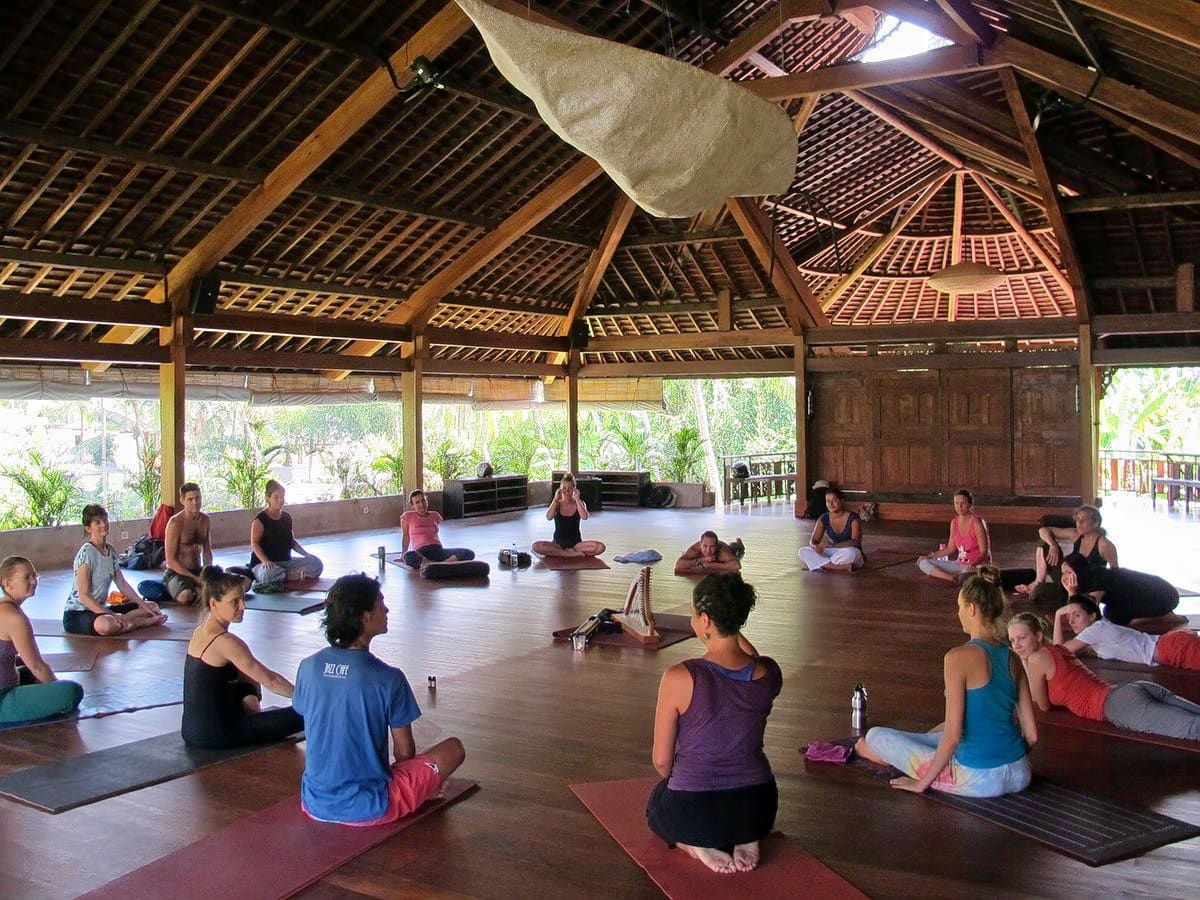 Relax at the Yoga Barn