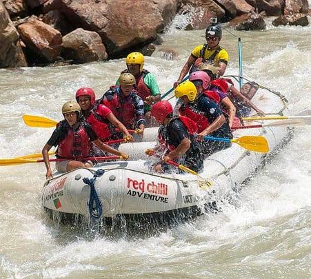 Rafting, Camping and Hiking in Rishikesh
