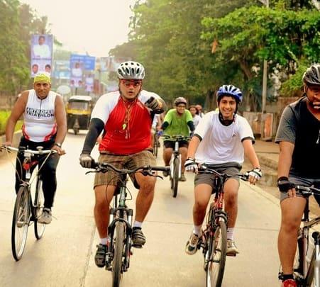 Cycle Ride to Siddhivinayaka Mahaganapati Temple in Titwala