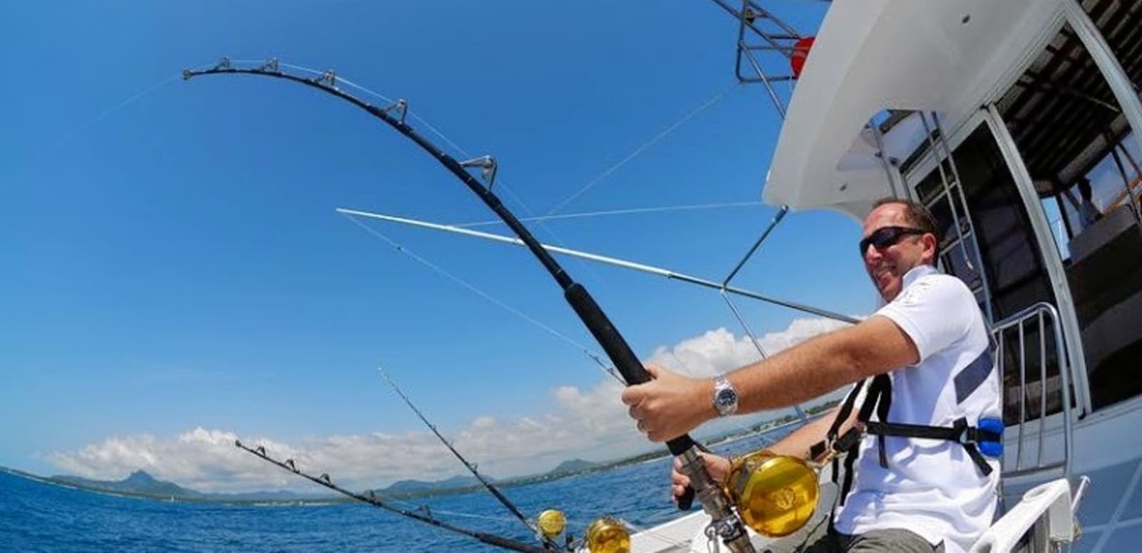 Image result for Fishing trip in mauritius