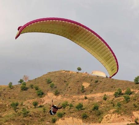 Paragliding at Dharamshala