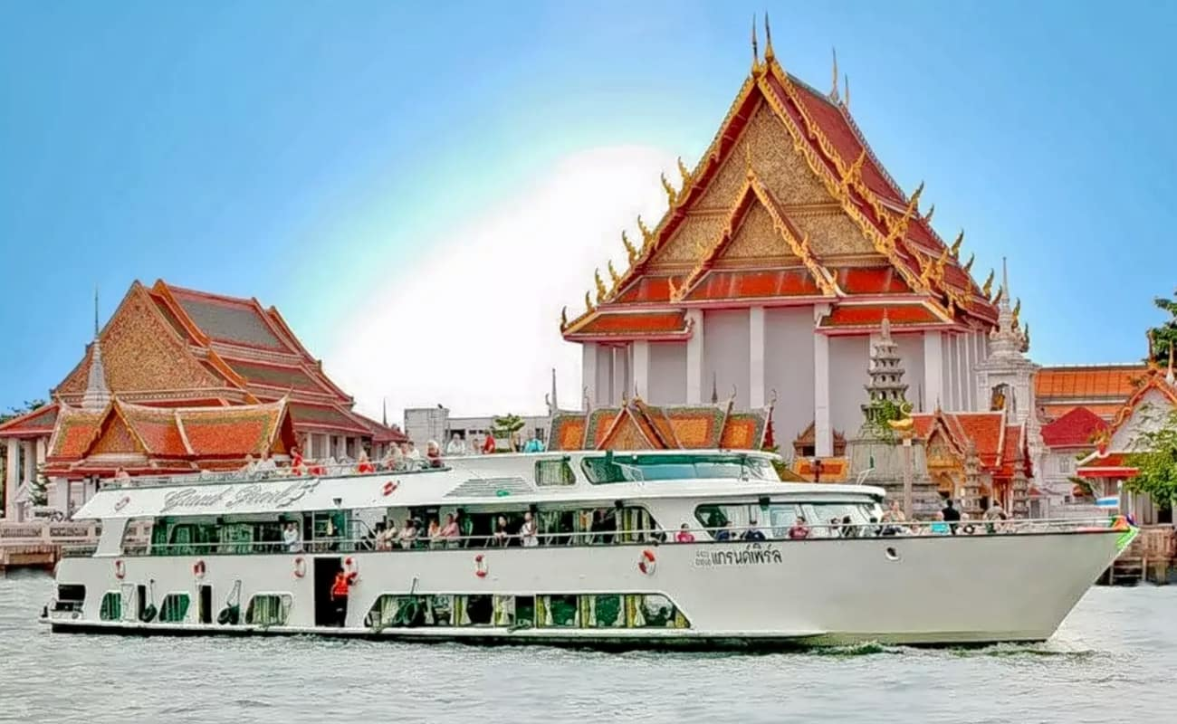 Ayutthaya Tour By Grand Pearl Cruise Near Bangkok