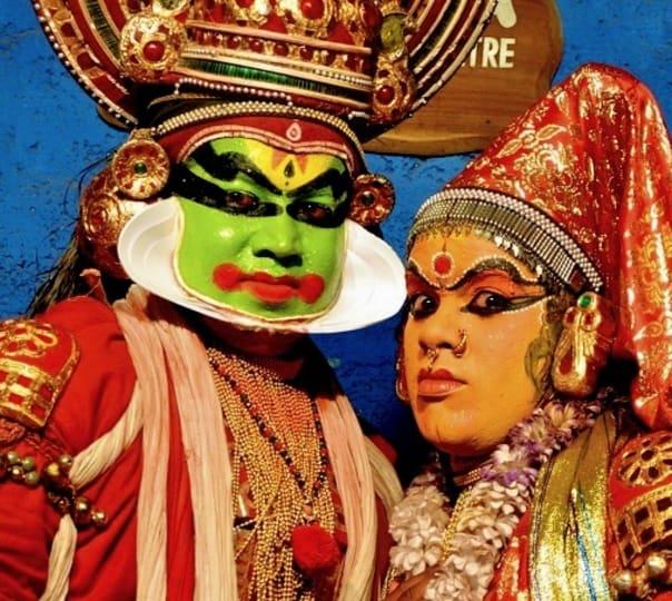 Kathakali and Kalaripayattu Performances in Thekkady