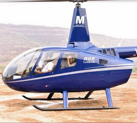 Helicopter Joyride in Jaipur